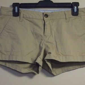 SO KHAKI SANDPAPER MINI/SHORT SHORTS, 7